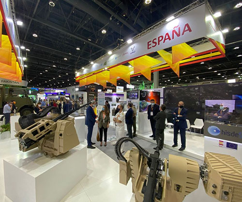 Escribano Showcased its Remote Weapons Stations (RWS) at IDEX 2021