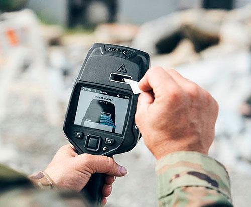 FLIR Launches Fido® X4 Premium Handheld Explosives Trace Detector