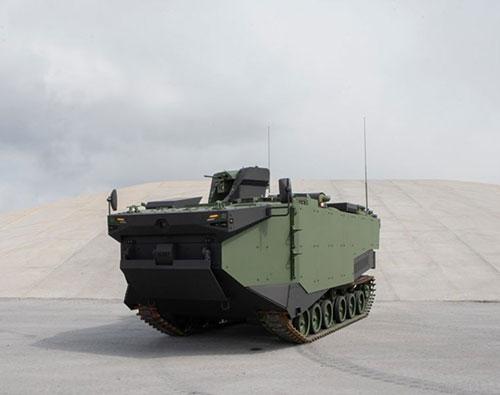 FNSS Unveils First Prototype Marine Assault Vehicle (MAV)