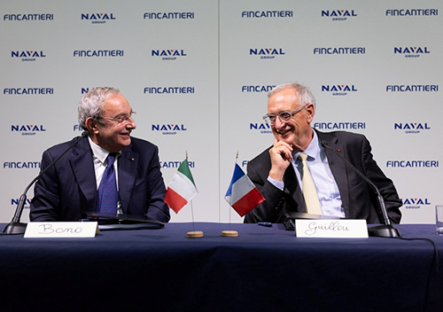 Fincantieri, Naval Group Sign Joint Venture Agreement