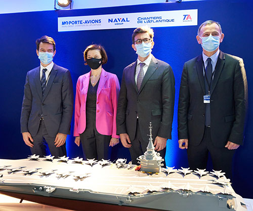 French Defence Minister Launches Design Platform for New Nuclear Aircraft Carrier