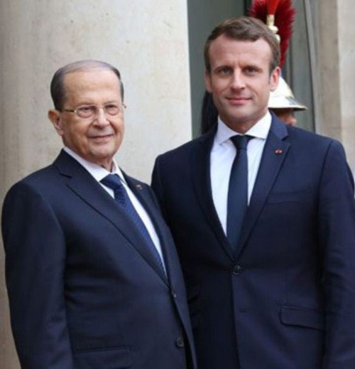 French President Hails Lebanese Army's Achievements