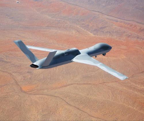 GA-ASI Conducts First Flight of Avenger ER