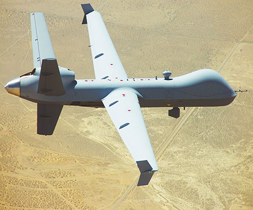 GA-ASI Demos BLOS Command & Control Over HF Using MQ-9