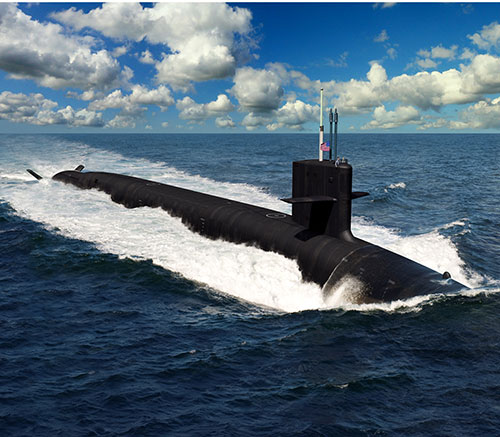 GD Electric Boat Wins Contract for US Navy's Columbia-Class Submarines