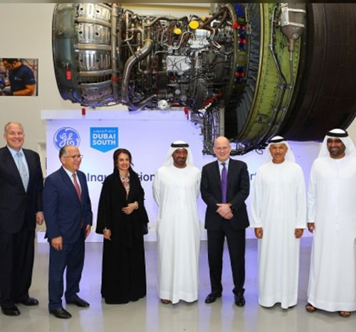 GE Aviation Opens 'On Wing Support' Centre at Dubai South
