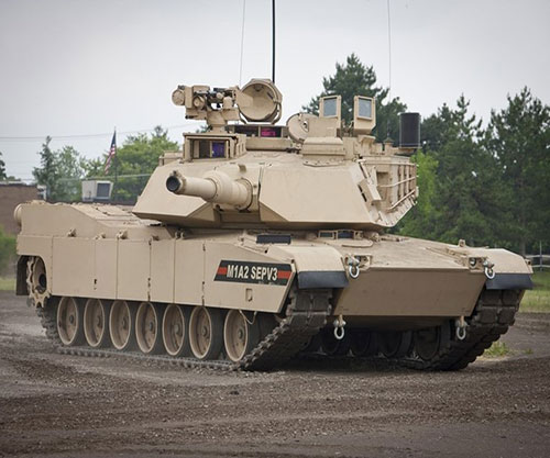 General Dynamics to Produce M1A2 SEPv3 Abrams MBTs for U.S. Army