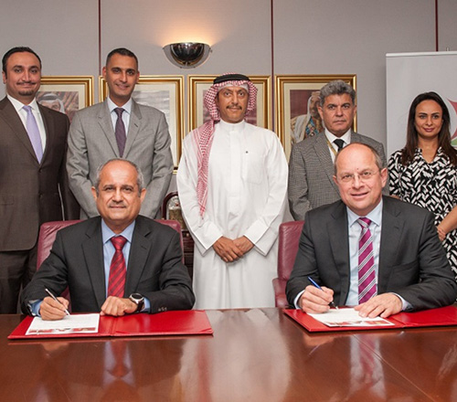 Gulf Air, Tamkeen Sign Joint Cooperation Agreement