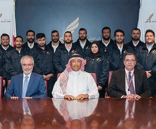 Gulf Air Hires 22 Bahraini Aircraft Maintenance Technicians
