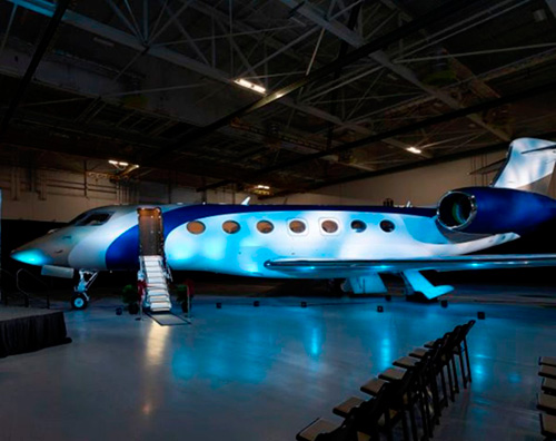 Gulfstream Delivers 1st New-Generation G500 on Time