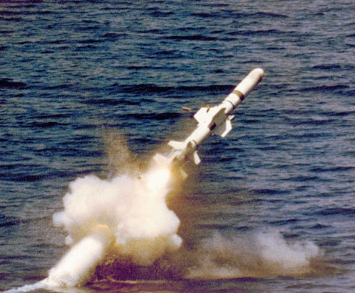 Egypt to Get 20 UGM-84L Harpoon Block II Encapsulated Missiles