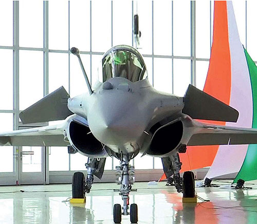 India Receives Second Batch of Three Rafale Fighter Jets
