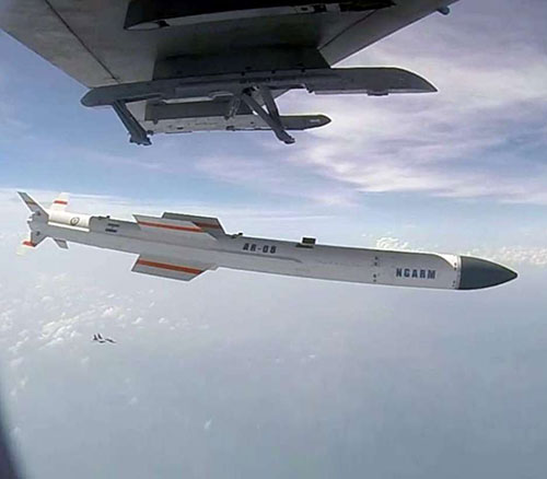 India Test-Fires First 'Rudram' Anti-Radiation Missile from Sukhoi-30