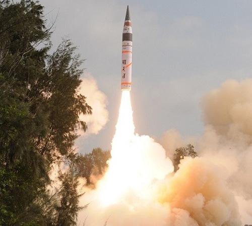 India Test-Fires Nuclear-Capable Agni-I Ballistic Missile