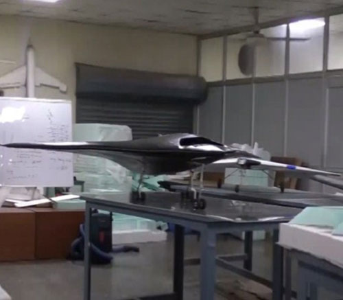 India Uncovers its Most Secretive 'Stealth Drone' Project