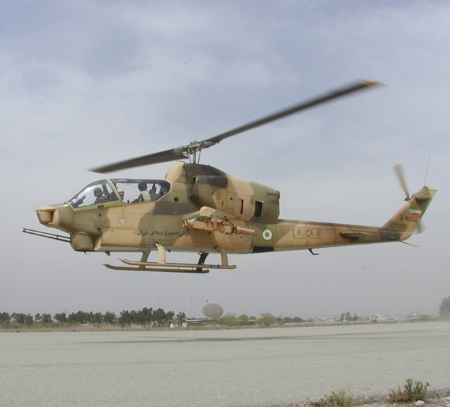 Iran Triples Range of Helicopter-Based Missiles