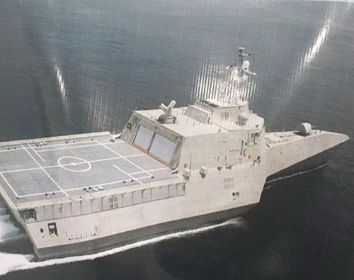 Iran Unveils Blueprint for its Planned Trimaran Destroyer