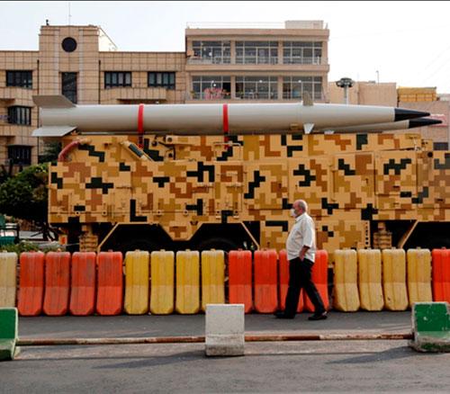 Iran Unveils New Ballistic Missile, Radars, Combat Robot & Dual Launcher