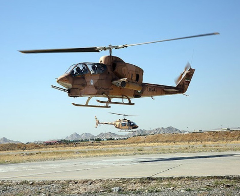Iran to Equip Helicopters with Fire-And-Forget Missiles