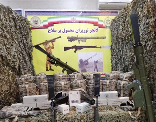 Iranian Army's Ground Force Unveils New Weapons