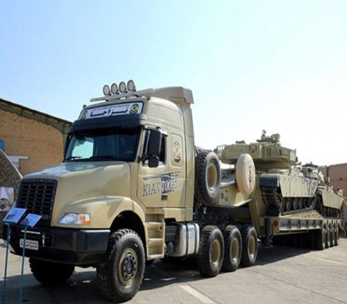 Iranian Army Receives Over 500 Super-Heavy Tank Transporters