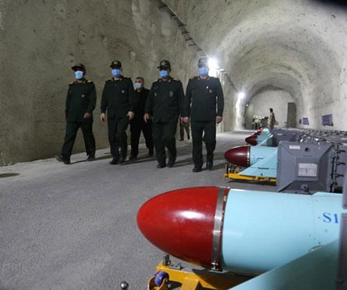 Iranian Navy Inaugurates New Underground Missile Base