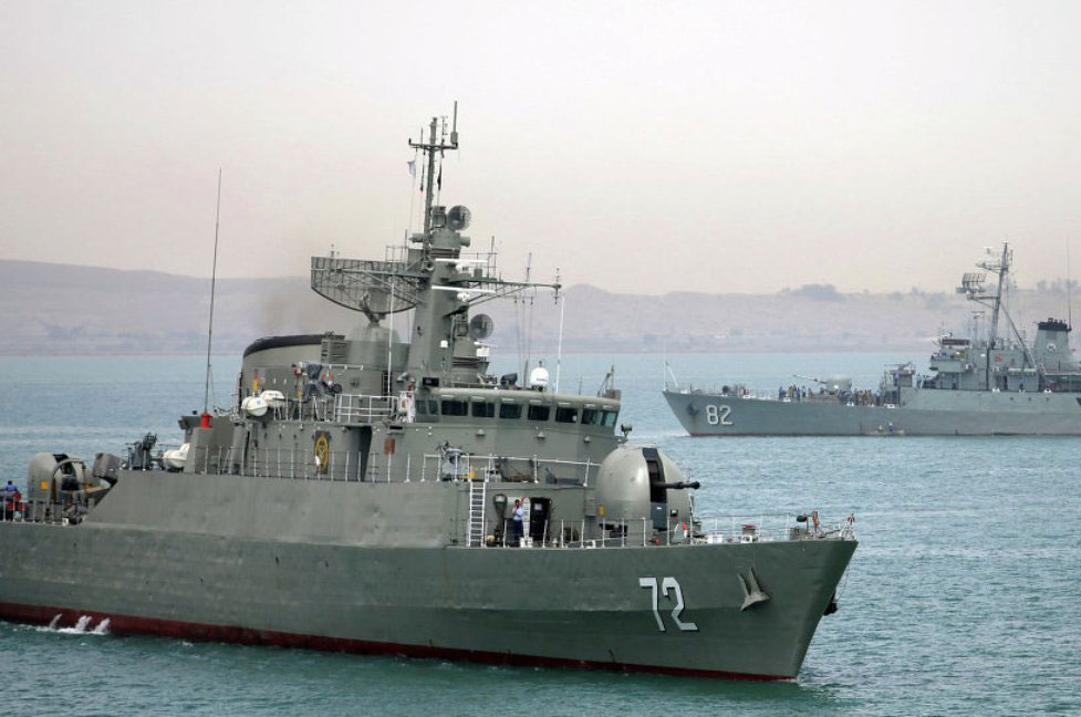 Iranian Warships Arrive in Russia for Joint Naval Exercises