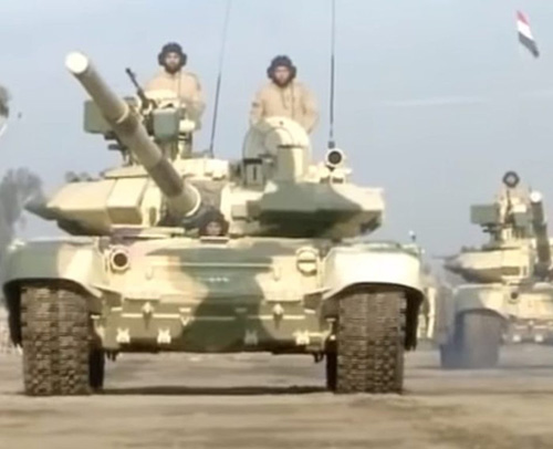 Iraq Publicly Displays New T-90S Main Battle Tank