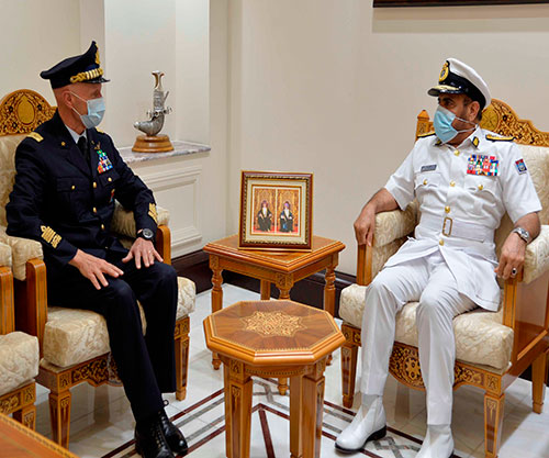 Italian Chief of Defense Concludes Visit to Sultanate of Oman