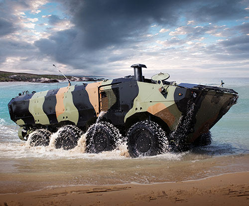 Iveco DV to Provide Further Amphibious Platforms to U.S. Marine Corps