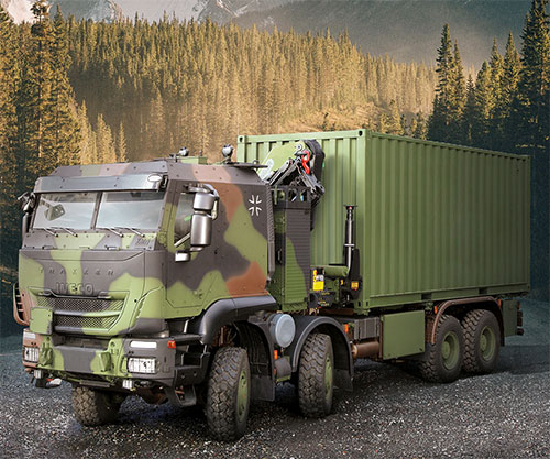 Iveco DV to Supply 1,048 Military Trakker Trucks to German Army