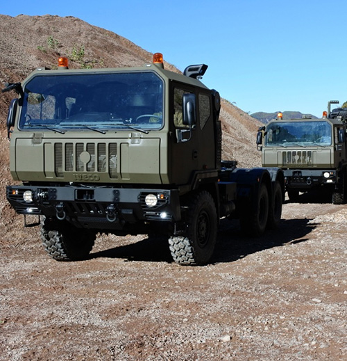Iveco DV to Supply 173 Military Trucks to Romania