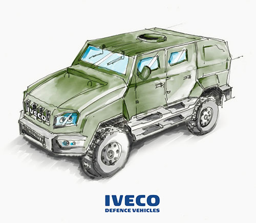 Iveco DV to Supply Medium Multirole Protected Vehicles to Dutch Armed Forces