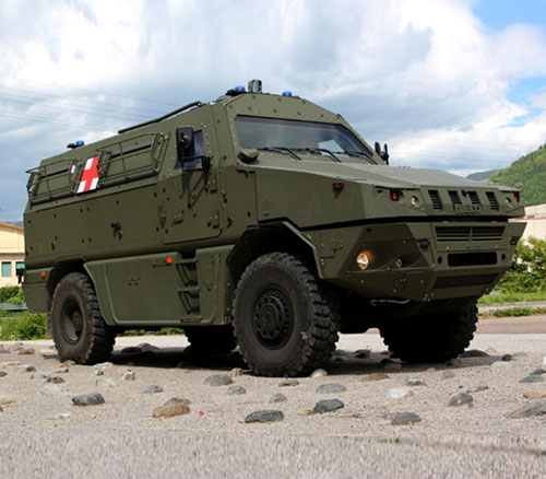Iveco Defence Vehicles' Support During COVID-19 Outbreak