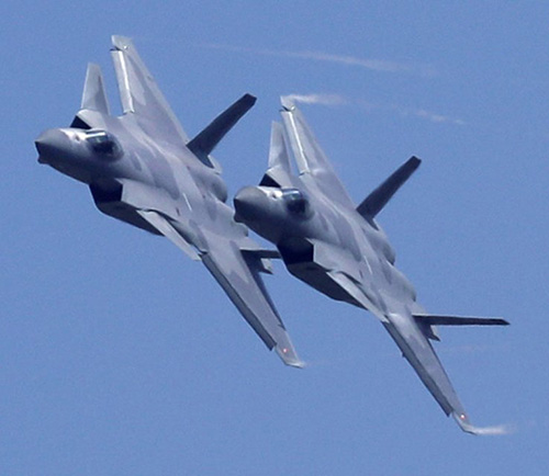 J-20 Stealth Fighter Makes Debut at Airshow China