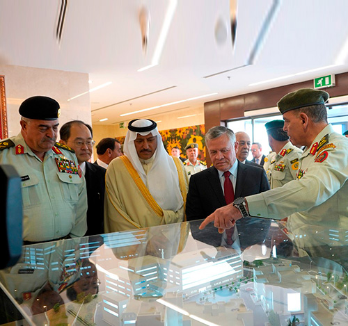 Jordan's King Inaugurates Queen Alia Military Hospital Expansion