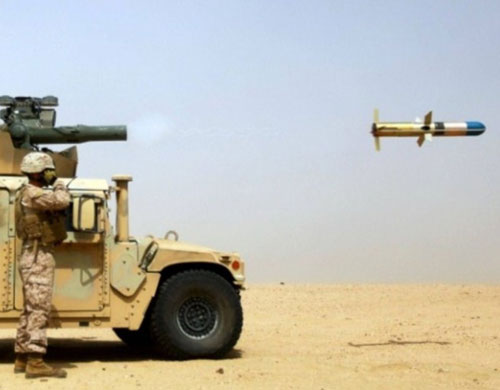 Jordan to Acquire Raytheon's TOW Missiles