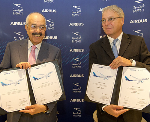 Kuwait Airways Orders Eight A330-800 Aircraft