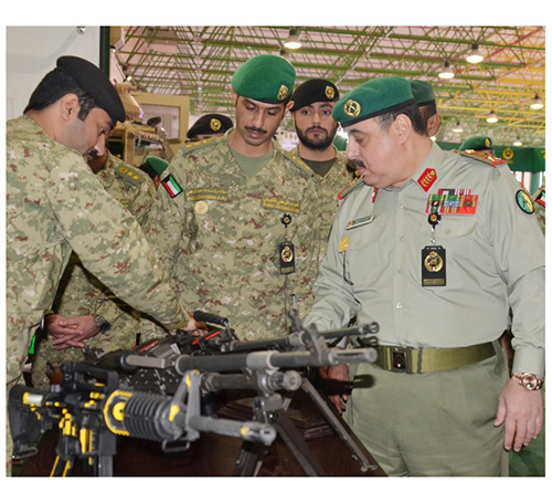 Kuwait National Guard Undersecretary Receives UAE Delegation