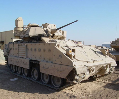 US Army Delivers 50 Bradley Armored Vehicles to Lebanon