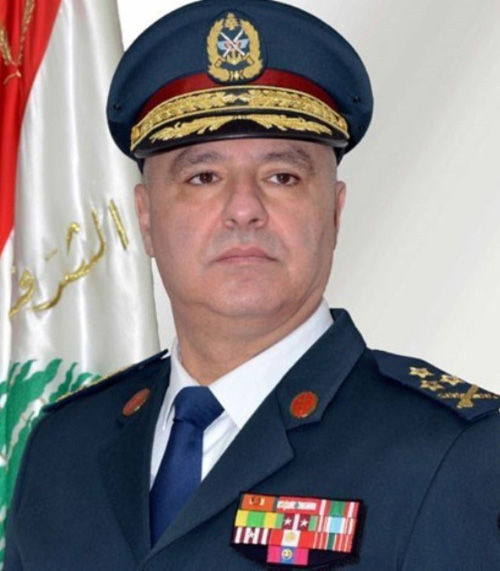 Lebanon's Army Chief Hails UAE Role to Combat Terrorism