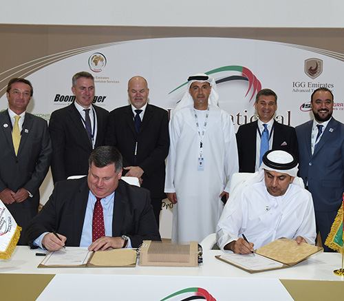 Leonardo DRS, IGG Sign Agreement to Support UAE Forces