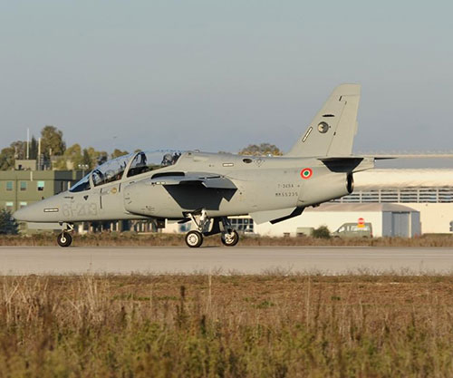 Leonardo Delivers First Two M-345 Jet Trainer Aircraft to Italian Air Force