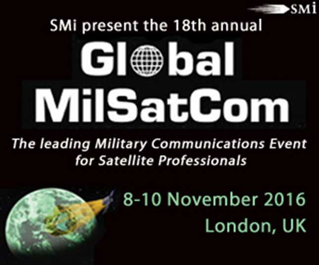 UK MoD to Provide Opening Address at Global MilSatCom