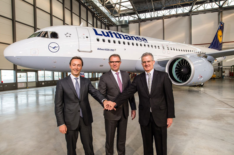 Lufthansa Becomes Launch Customer of A320neo