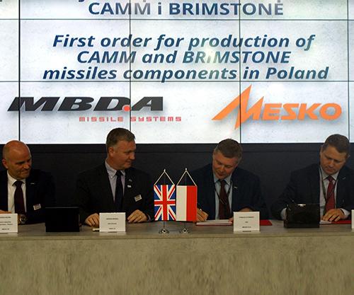 MBDA Brings MESKO into Global Missile Supply Chain