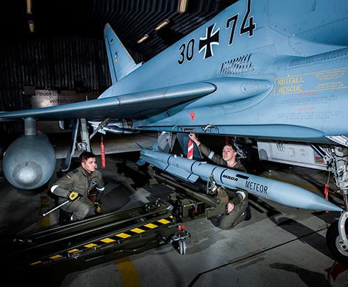 MBDA to Supply More Meteor Missiles to German Air Force