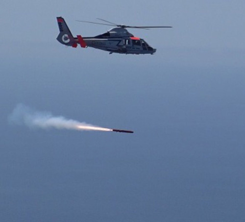 MBDA's Sea Venom/ANL Anti-Ship Missile Completes First Firing