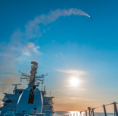 Royal Navy Conducts First Firings of Sea Ceptor Air Defense System