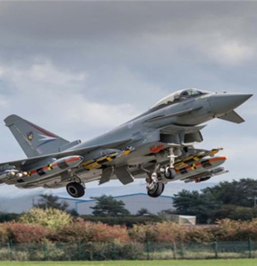 MBDA's Brimstone Test Fired From Eurofighter Typhoon